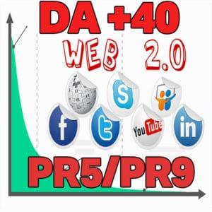 40 Web 2.0 Backlinks Para Seu Site DA 40+