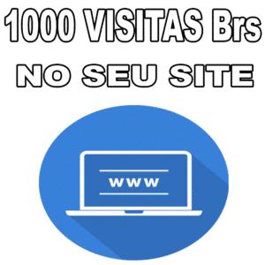 1.000 Visitas Brasileiras Site - Tráfego para Site