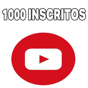 1000 Inscritos no Youtube - Inscritos para Youtube