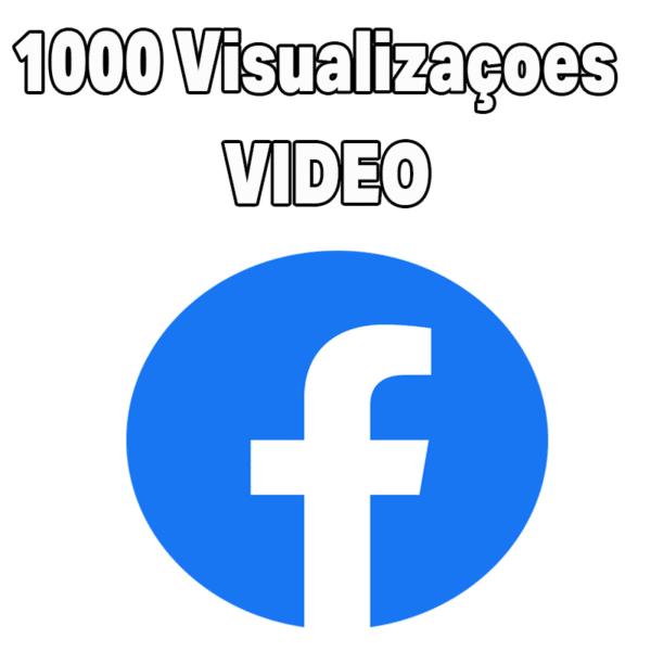 1.000 Visualizações em Vídeo - Visualização no Facebook