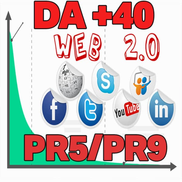 40 Web 2.0 Backlinks Para Seu Site DA 40+