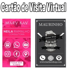 Cartão de Visita Virtual - Cartão de Visita